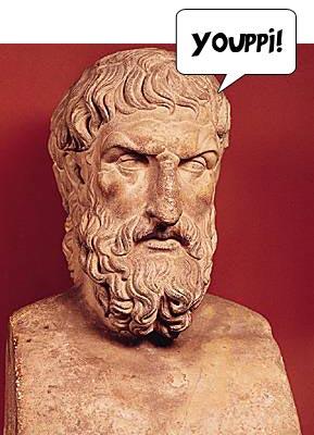 Buste d'Épicure, Musée du Capitol à Rome