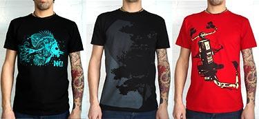 T-shirts équitables pour hommes NKI, 2010