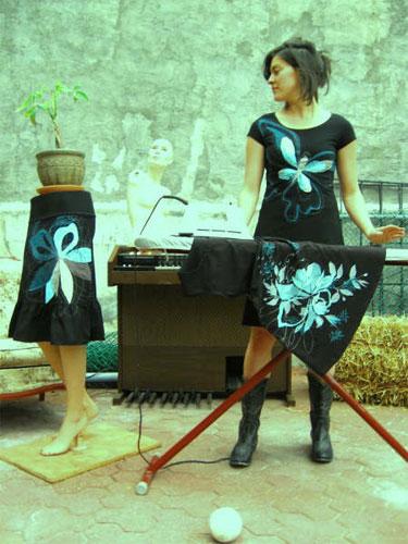 Éco designer Ève Lavoie, artiste en arts visuels