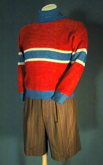 Costume de Fridolin, Centre National du Costume, concepteur: François Barbeau