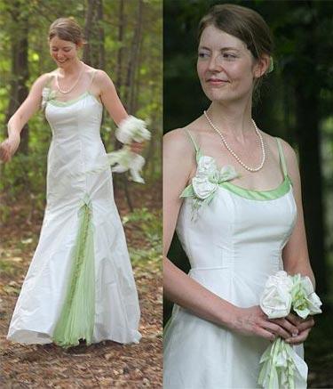 Katin Leblond, tenue de mariée sur mesure