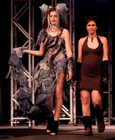 Robe haute couture Zoluna - Photo: Martin Vallière