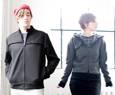 Par atelier b. manteaux pour hommes 210$, pour femmes 200$  Photos : Antoine Fortin et Jérémy Landier