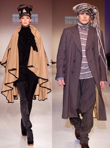 Manteau de la griffe ENVERS, par Yves-Jean Lacasse