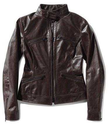 Manteau pour femme en cuir m0851, 940$.