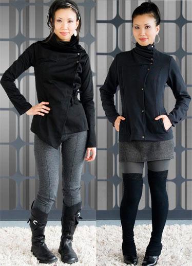Jackets de la griffe Melow de Mélissa Bolduc.