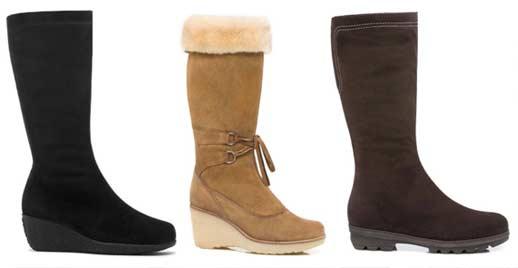 La Canadienne offre de nombreux modèles de bottes pour temps froid, variant entre 300$ et 500$.