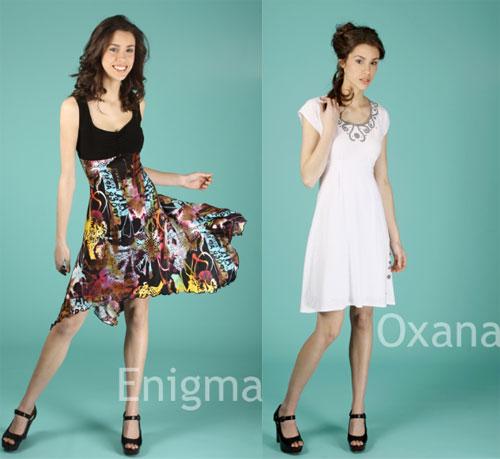 Deux jolis modèles de robes par Luc Fontaine