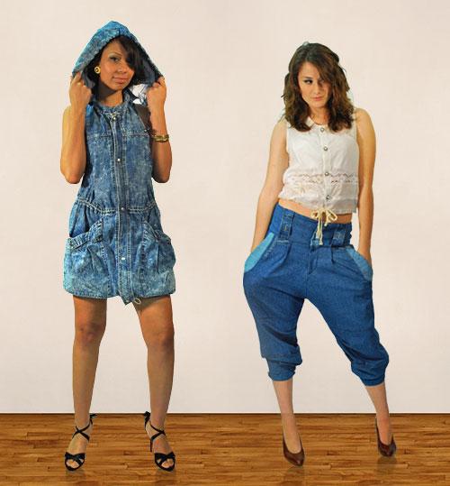 Jeans Pas de Chichi, vendus à la Gaillarde